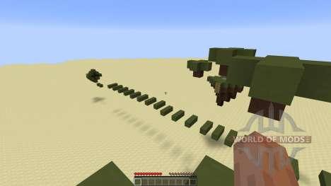 Tiki Parkour Challenging Parkour für Minecraft