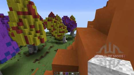 Mushroom sky island pour Minecraft
