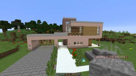 Modern House pour Minecraft