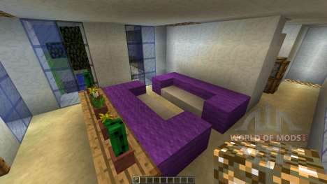 MODERN HOUSE 3 THE CABIN [1.8][1.8.8] pour Minecraft