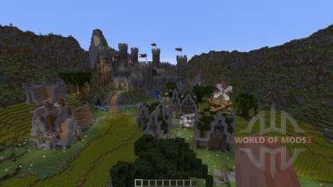 Wilcuth Valley Medieval Castle für Minecraft