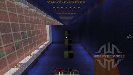 Red vs Blue Obstacle Course 3 für Minecraft