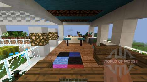 Cozy Cottage Luxurious Modern House [1.8][1.8.8] pour Minecraft