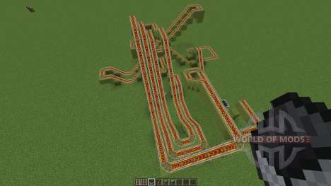 Small Smile Neverending Coaster für Minecraft
