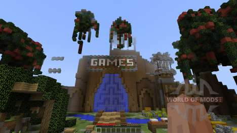 Floating Blitz GamesLobby [1.8][1.8.8] pour Minecraft