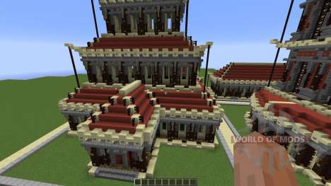 Village of the Red Clay Build Pack Review für Minecraft