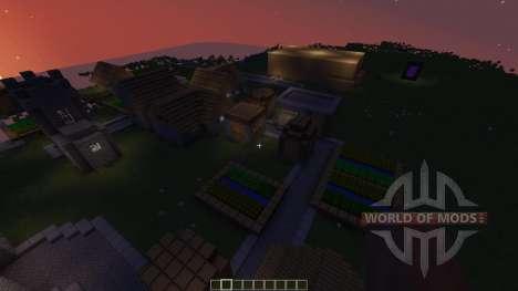 UNFINISHED CASTLE OF CASTLENSS pour Minecraft