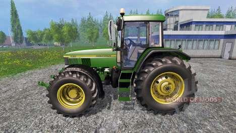 John Deere 7810R v1.5 pour Farming Simulator 2015