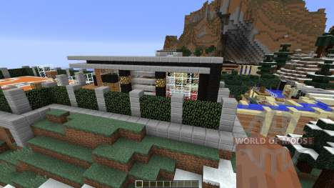Luxurious Cove House pour Minecraft