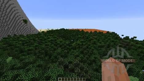 Very Nice Minecraft Landscape für Minecraft
