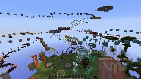 Themed Level Parkour [1.8][1.8.8] pour Minecraft