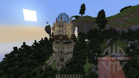 Wizards Temple für Minecraft