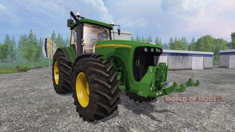 John Deere 8220 v2.0 pour Farming Simulator 2015