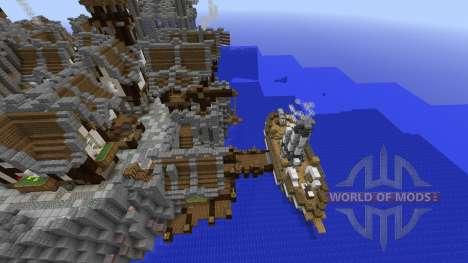 The 2 kingdoms Ile Obscure pour Minecraft