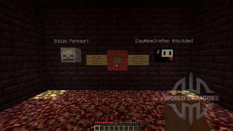 Kaizo Parkour [1.8][1.8.8] pour Minecraft