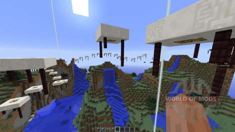 Sky Run Parkour für Minecraft