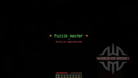Puzzle Master Custom Map pour Minecraft