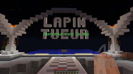 Lapin tueur pour Minecraft