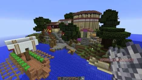 Roman city für Minecraft