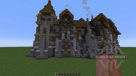 A Medieval Manor pour Minecraft