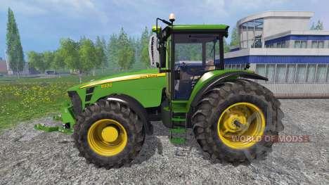 John Deere 8330 v4.1 für Farming Simulator 2015