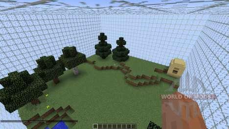 Little sky survival pour Minecraft