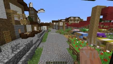 Medieval Village pour Minecraft