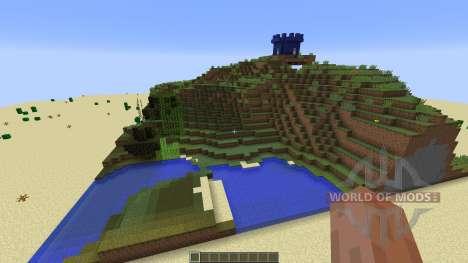 paintball map 7 für Minecraft