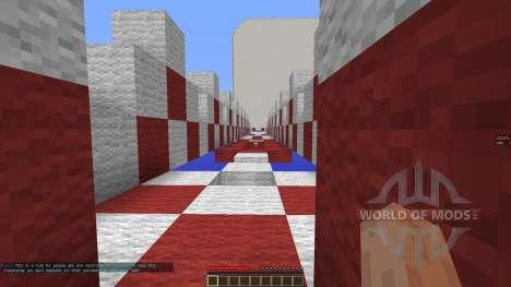 iCrave Parkour pour Minecraft