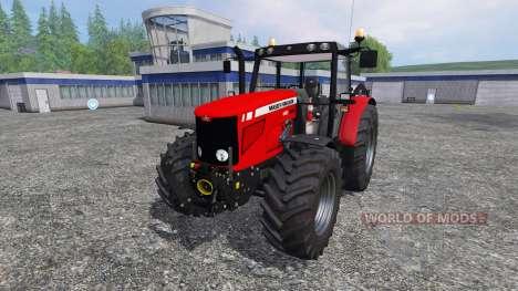 Massey Ferguson 6480 v2.0 pour Farming Simulator 2015