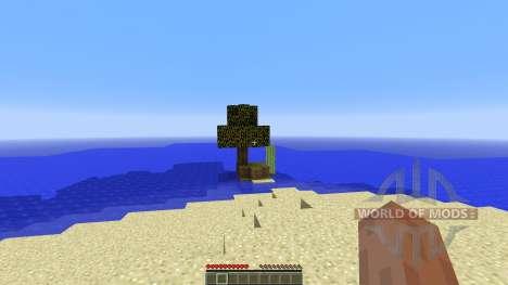 Survival Island v1.0 pour Minecraft