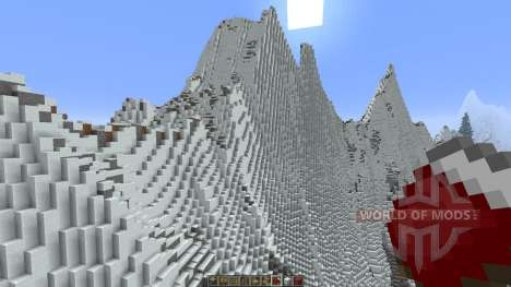 Mountainside Realistic Terrain pour Minecraft