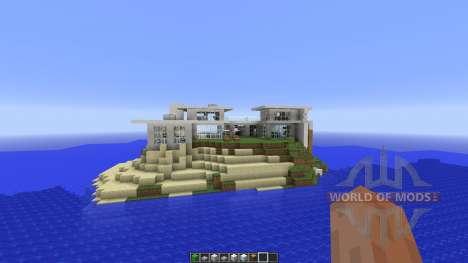A Modern House für Minecraft