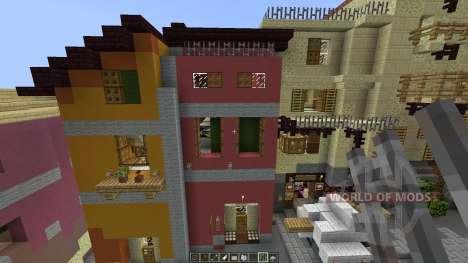 A cinque terre Manarola in Italy [1.8][1.8.8] für Minecraft