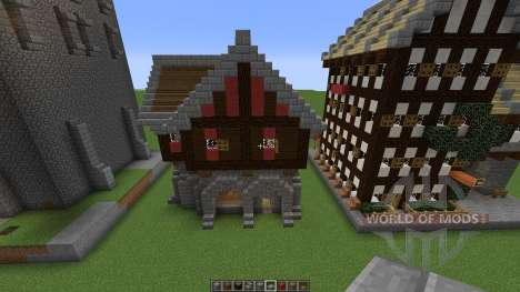Medieval building pack für Minecraft