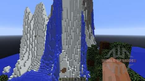 Sáaret 2k Relief Personnalisé pour Minecraft