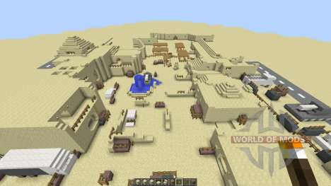 DESERT VILLAGE pour Minecraft