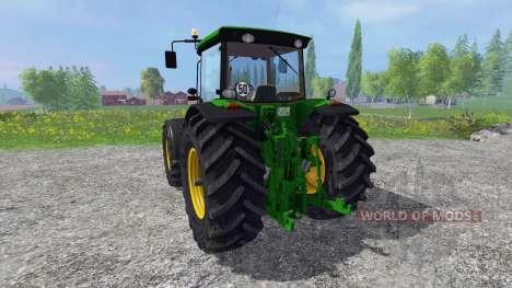 John Deere 8430 v2.0 pour Farming Simulator 2015