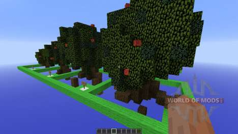 Moordegaais awesome tree pack pour Minecraft