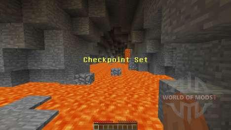 Cave Parkour für Minecraft