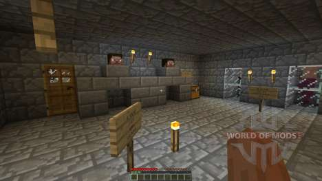 The Dead Crypt Adventure Map pour Minecraft