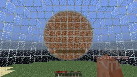 Glass sphere survival pour Minecraft