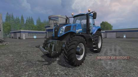 New Holland T8.435 v3.0 pour Farming Simulator 2015