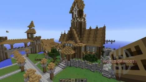 A Server spawn map pour Minecraft