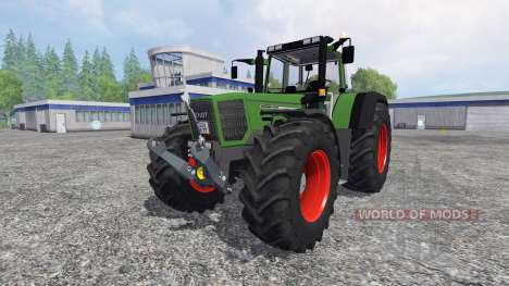 Fendt Favorit 824 [new] pour Farming Simulator 2015
