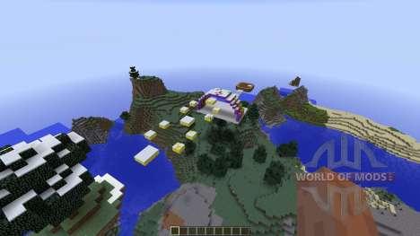 Awesome Mega Parkour für Minecraft