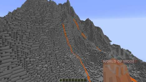 Realistic Volcano pour Minecraft