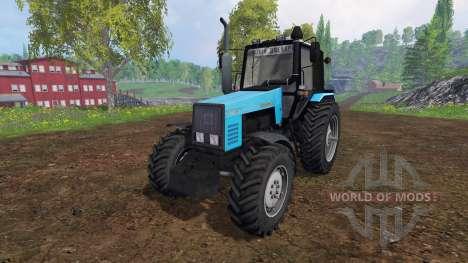 MTZ-W. 2 Biélorusse v2.0 pour Farming Simulator 2015