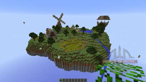Sky Village pour Minecraft