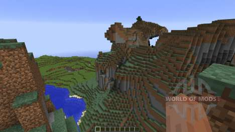 Mountain map pour Minecraft